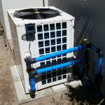 maintenance pool heating heat pump